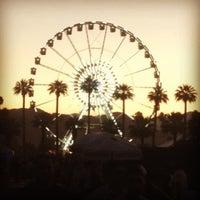 Photo taken at Coachella Main Stage VIP by Josh L. on 4/19/2013