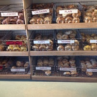 Photo taken at AMI's Bagel by Sandra M. on 12/16/2013