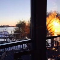 Photo taken at Marina Cafe by Sonny B. on 10/30/2014