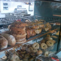 Photo taken at Bagelicious by Jack S. on 12/23/2012