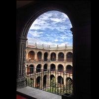 Photo taken at Antiguo Colegio de San Ildefonso by David C. on 1/2/2013