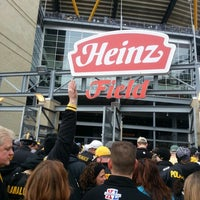 Photo taken at Heinz Field by Courtney on 12/9/2012