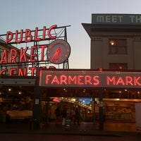Photo taken at Pike Place Market by Andrew P. on 10/10/2012