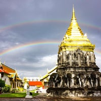 Photo taken at Wat Chiang Man by Phimrost S. on 9/4/2016