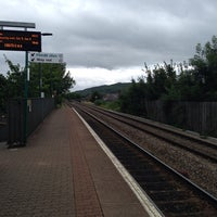 Photo taken at Waun-Gron Park Railway Station (WNG) by James F. on 7/4/2014
