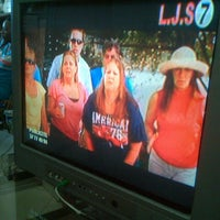 Photo taken at Radio Télé  L.J.S by Ulysse J. on 7/24/2012
