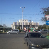 Photo taken at Кыргызская национальная филармония им. Т. Сатылганова by Юлия ). on 8/28/2014