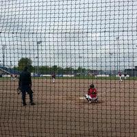 Photo taken at Pim Mulier Baseball Stadium by Hans v. on 5/26/2013