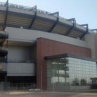 Photo taken at Gillette Stadium by Russ G. on 6/16/2013