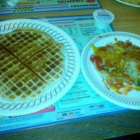 Photo taken at Waffle House by Ashley F. on 10/16/2013