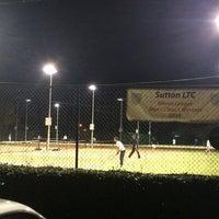 Photo taken at Sutton Lawn Tennis Club by Steffinho on 10/20/2014