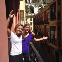 Photo taken at Hostal Atenas Granada by Sammy R. on 8/27/2014