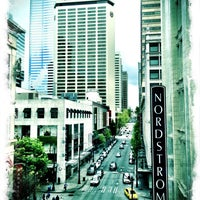 Photo taken at Nordstrom Downtown Seattle by Tim G. on 4/29/2013