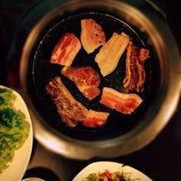 Photo taken at Blue Garden Korean BBQ Restaurant by Pitt C. on 11/6/2013