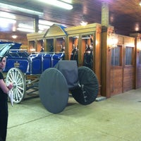 Photo taken at Express Clydesdales Ranch by Jason M. on 5/4/2013