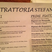 Photo taken at Trattoria Stefano by Julianna O. on 10/20/2013