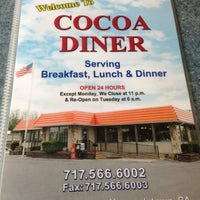 Photo taken at Cocoa Diner by John 🍺 M. on 11/3/2012