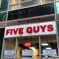 Photo taken at Five Guys by Edan B. on 3/20/2013