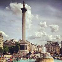 Photo taken at Trafalgar Square by Cyril V. on 7/26/2013