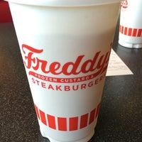 Photo taken at Freddy's Frozen Custard & Steakburgers by Micah on 5/20/2014