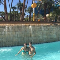 Photo taken at Grand Pool Complex Lazy River by Alessandra C. on 9/9/2016