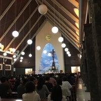Photo taken at Gereja Katolik Roh Kudus by AGUS G. on 7/10/2016