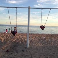 Photo taken at Beachfront Park by Bilal S. on 9/8/2013
