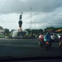 Photo taken at Alun-Alun Cilacap by Chelsea M. on 7/18/2016