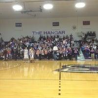 Photo taken at Merkert Gym/Student Center - Stonehill College by Doug M. on 2/23/2013