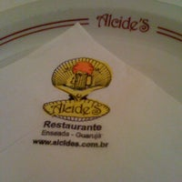 Photo taken at Alcide's Restaurante by Kathia M. on 7/24/2012