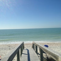 Photo taken at Pass-a-Grille Beach by Cara F. on 3/5/2013