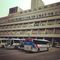 Photo taken at Seoul Express Bus Terminal by Kim H. on 6/29/2013