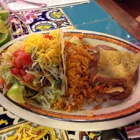 Photo taken at Rosa's Cafe & Tortilla Factory by Tony M. on 4/9/2014