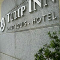 Photo taken at Hotel Tulip Inn Saint Louis by Thatiana M. on 3/23/2013
