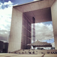 Photo taken at Grande Arche de la Défense by Aly M. on 9/13/2012