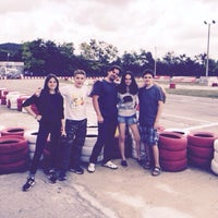 Photo taken at Varna Karting Track by Аня on 7/20/2015