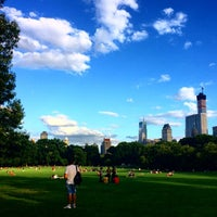 Photo taken at Sheep Meadow by Adam G. on 7/24/2014
