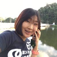 Photo taken at Kiu Lom Dam by TEY on 12/3/2016