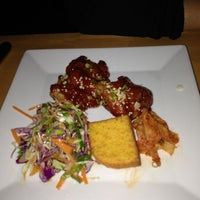 Photo taken at Meritage Restaurant & Wine Bar by Trang M. on 10/12/2012