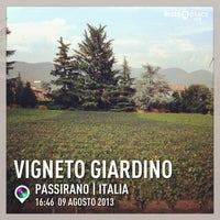 Photo taken at Vigneto Giardino by Lucia B. on 8/9/2013