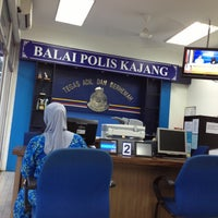 Photo taken at Balai Polis kajang by ajoy® on 4/25/2013