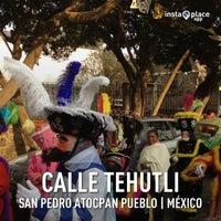 Photo taken at San Pedro Atocpan by Ricardo P. on 4/6/2013