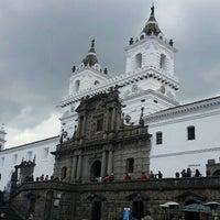 Photo taken at Iglesia de San francisco by Denise J. on 4/19/2015
