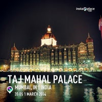Photo taken at Taj Mahal Palace & Tower by AA M. on 3/1/2014