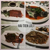 Photo taken at Hai Tien Lo 海天楼 by AA M. on 12/26/2013