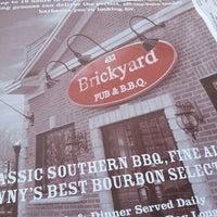 Photo taken at The Brickyard Pub & B.B.Q. by Astoriawinediva on 6/10/2014
