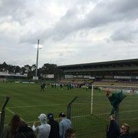 Photo taken at Soevereinstadion | Lommel United by Ilse En Joeri M. on 4/30/2016
