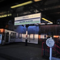Photo taken at Hitchin Railway Station (HIT) by Andrew w. on 11/18/2012