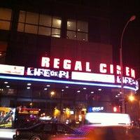 Photo taken at Regal Cinemas Union Square 14 by Matt N. on 12/31/2012