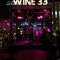 Photo taken at WINE 33 By Singha by Kan K. on 9/26/2014